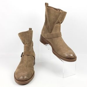 Nine West Hanzil Moto Ankle Boots Booties